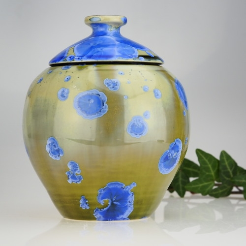 MAŁA URNA NA PROCHY, URNA KREMACYJNA . NR 85 - Twórca: Joanna Lewandowska . Ceramika