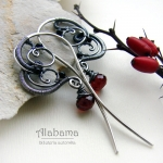 ValenTIME - romantic earrings - Alabama w Biżuteria/Kolczyki
