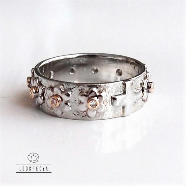 cb7a66c55634d5 DIAMENTOWY - złoty różaniec z 10 diamentami / lookrecya / Biżuteria /  Pierścionki